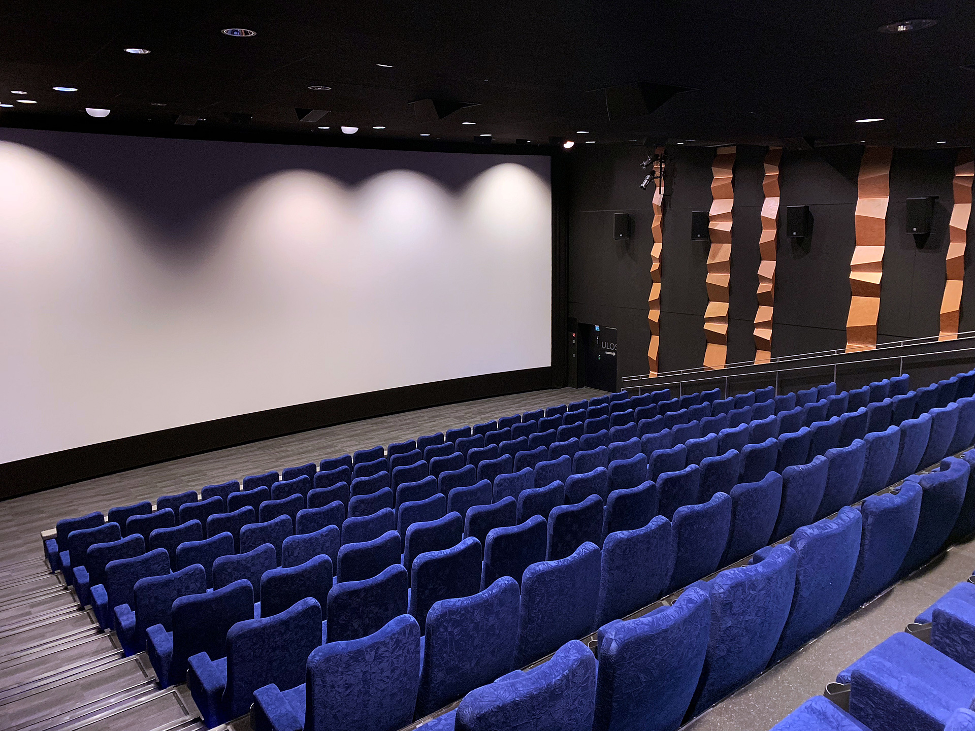 Acoustic design maximizes the cinema experience
