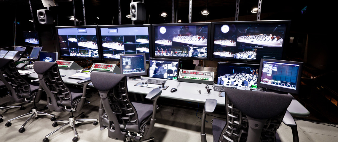 Video and sound recording studios - Musiikkitalo